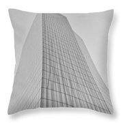 Grey Crystal Throw Pillow