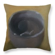 Grey Cup Throw Pillow