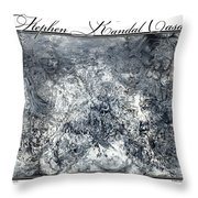 Grey Matter Throw Pillow