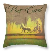 Greys On Course Throw Pillow