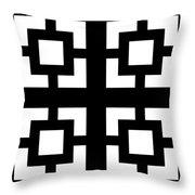 Grid 1  Throw Pillow
