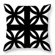 Grid 3  Throw Pillow