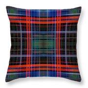 Grid 4 Throw Pillow