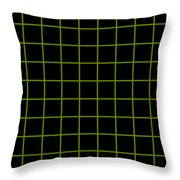 Grid Boxes In Black 09-p0171 Throw Pillow