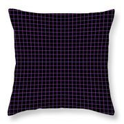 Grid Boxes In Black 30-p0171 Throw Pillow