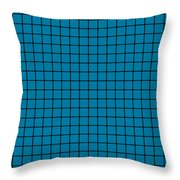 Grid In Black 18-p0171 Throw Pillow