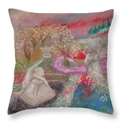 Grief's Paths Throw Pillow