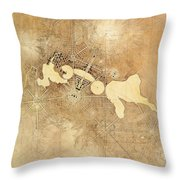 Griffin Plan Canberra 1912 Throw Pillow