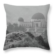 Griffith Obsevotory Celebration Throw Pillow
