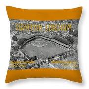 Griffith Stadium Throw Pillow