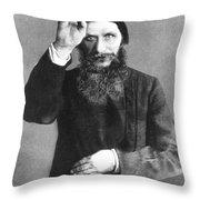 Grigori Efimovich Rasputin Throw Pillow