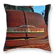 Grill Marks Throw Pillow