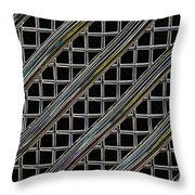 Grille 2 Throw Pillow