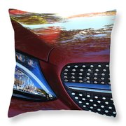 Grille  And Headlight  Throw Pillow