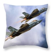 Grim Reapers  Throw Pillow