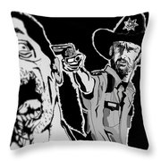 Grimes Reaper Throw Pillow