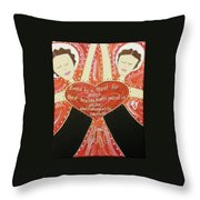 Grimke Sisters Throw Pillow