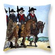Grimm: Brave Little Tailor Throw Pillow