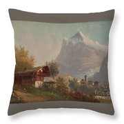 Grindelwald Throw Pillow