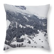 Grindelwald In Winter 3 Throw Pillow