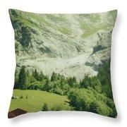 Grindelwald Switzerland 7 Throw Pillow