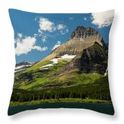 Grinell Mountain Throw Pillow