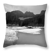 Grinnell Glacier Panorama Throw Pillow