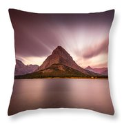 Grinnell Sunrise Throw Pillow