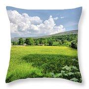 Grinton Meadows Throw Pillow