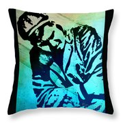 Grip Of Pain Throw Pillow