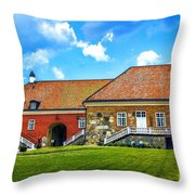 Gripsholm Castle Keep Throw Pillow