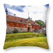 Gripsholm Entrance Throw Pillow