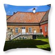 Gripsholm Keep Throw Pillow