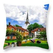 Gripsholms Dardshus Throw Pillow