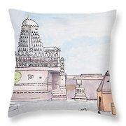 Grishneshwar Jyotirling Throw Pillow