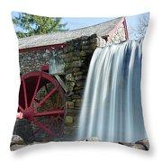 Grist Mill 1 Throw Pillow