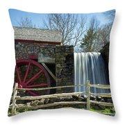 Grist Mill 5 Throw Pillow