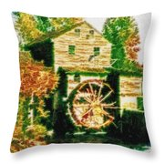 Grist Mill Tranquility Throw Pillow
