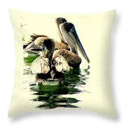 Grocery Shopping Throw Pillow