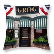 Grog Throw Pillow