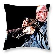 Groovin' High Throw Pillow