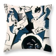 Gropper - Stock Exchange Throw Pillow by Granger