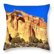 Grosvenor Arch Panorama Throw Pillow