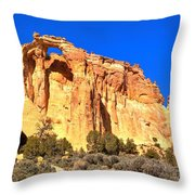 Grosvenor Double Arch Panorama Throw Pillow