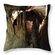 Grotte Magadaleine South France  Throw Pillow