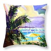 Grotto Bay Throw Pillow