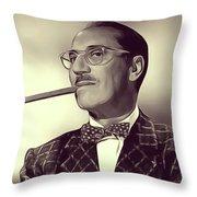 Groucho Marx Throw Pillow