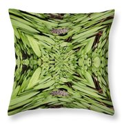 Ground Cover Vortex Throw Pillow