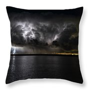 Ground Strike Throw Pillow