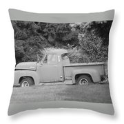 Grounded Pickup Throw Pillow